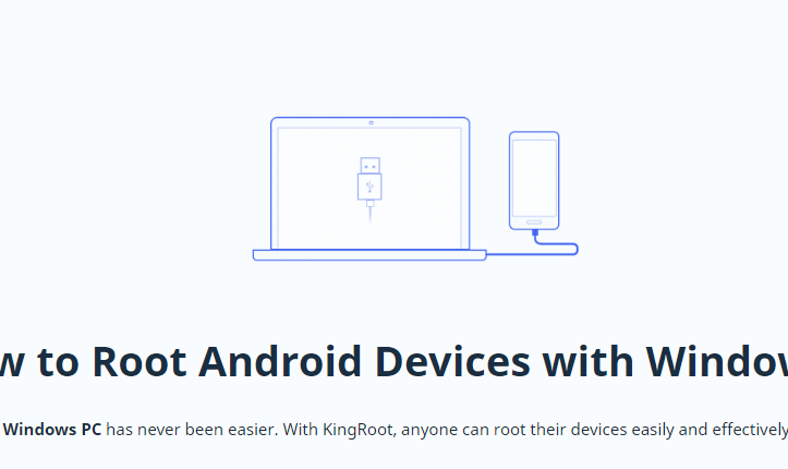 Download KingRoot PC App Desktop Version for Android 6 0 1