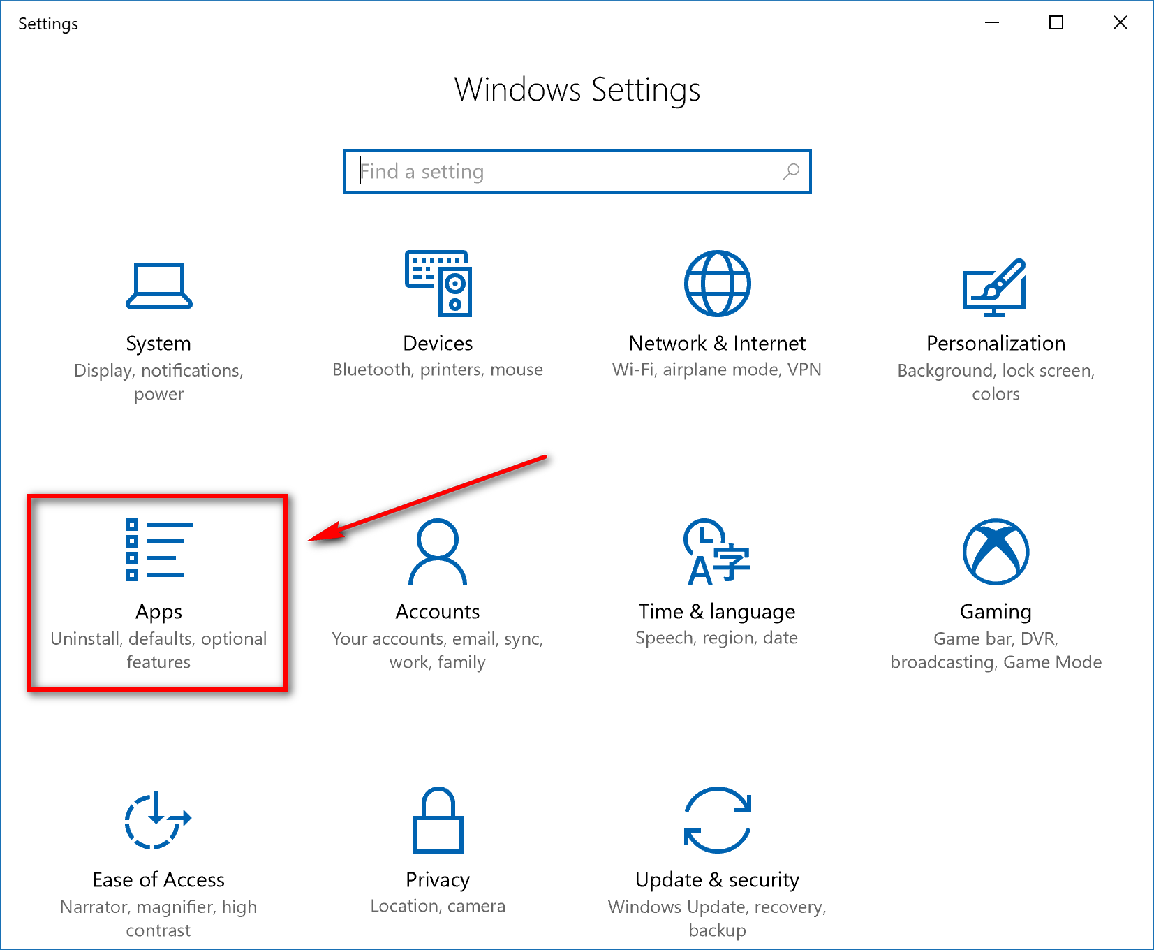 Restore Default Apps for File Extension Type Associations in