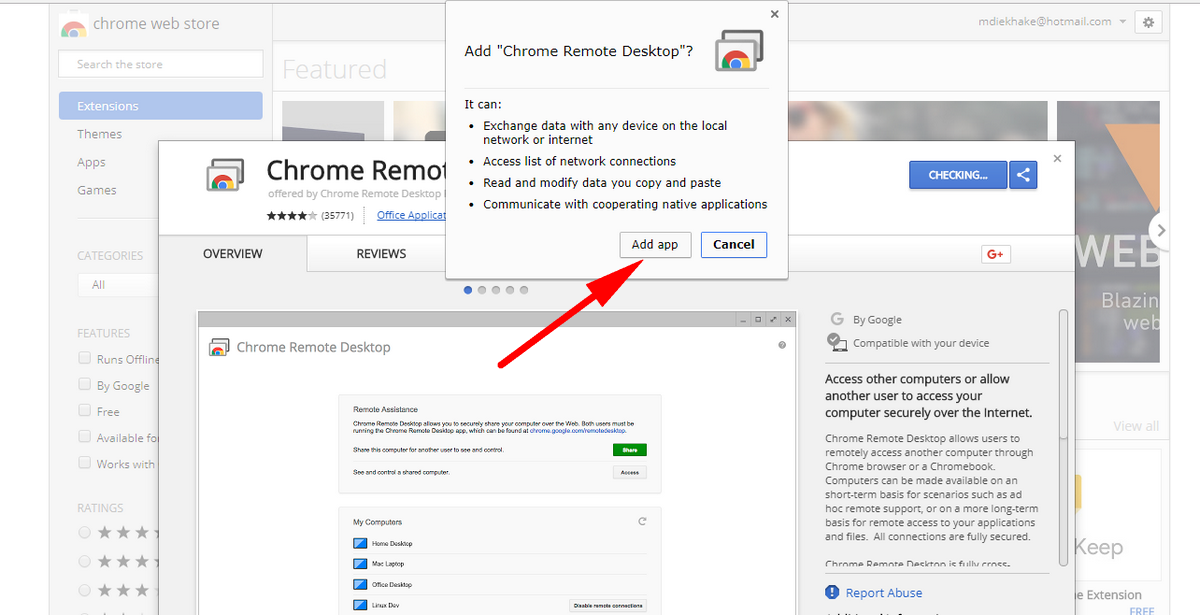Use Google Chrome Remote Desktop on Any Computer with Chrome