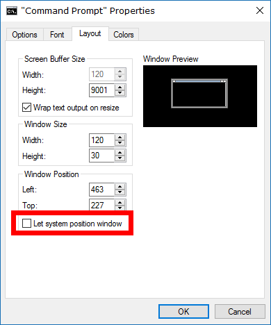 Change Command Prompt Window Position in Windows   ConsumingTech