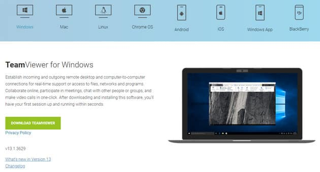 Download TeamViewer 13 Free For Windows 10 | ConsumingTech