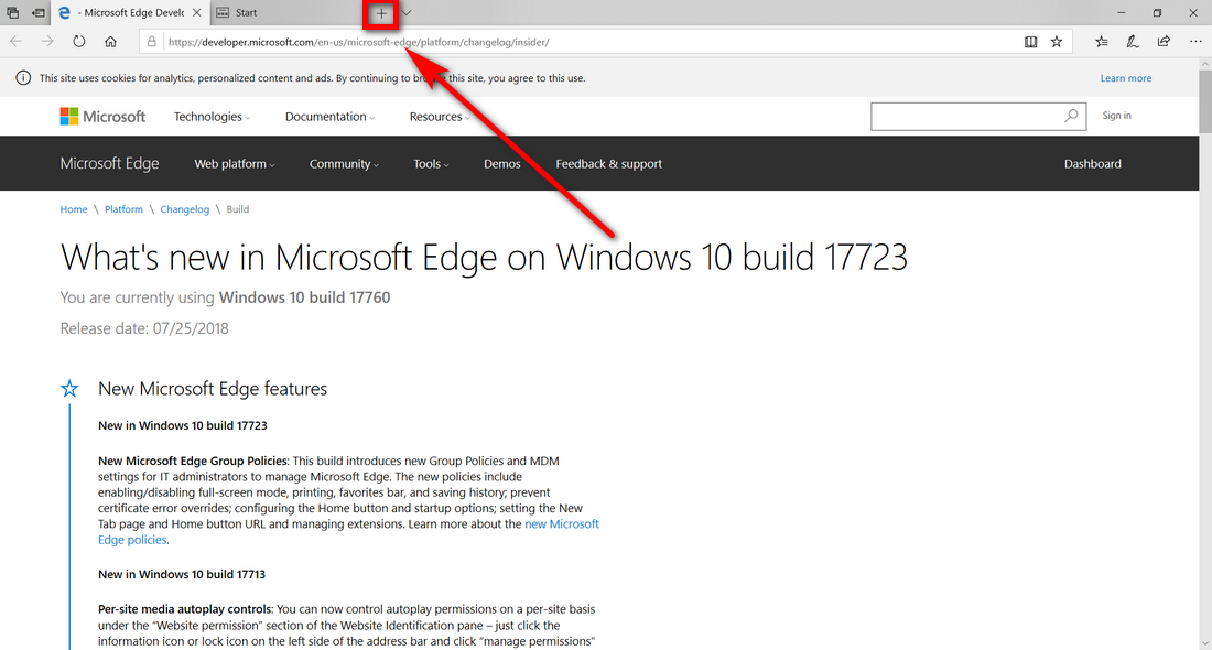 Enable or Disable Tabs (Sets) in Windows 10 | ConsumingTech