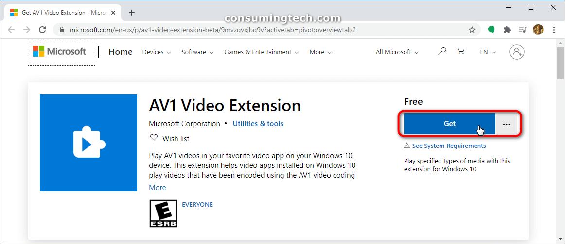 AVI video extension