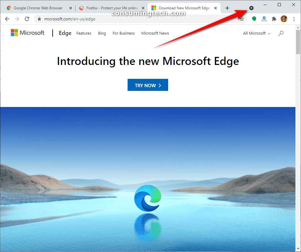 You Can Now Enable Tab Search In Google Chrome Canary