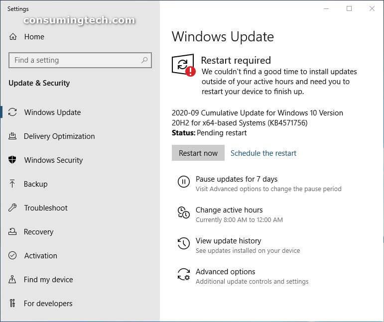 Windows 10 KB4571756